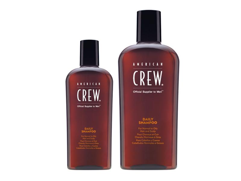 American Crew  Daily Moisturizing Shampoo - šampón pre normálne až suché vlasy
