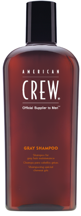American Crew Gray Shampoo - šampon pro šedé až bílé vlasy, 250 ml