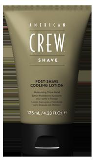 American Crew Post-Shave Cooling Lotion - pečující osvěžení po holení, 125 ml