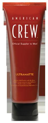 American Crew Ultramatte - krém se střední fixací a matným efektem, 100 ml