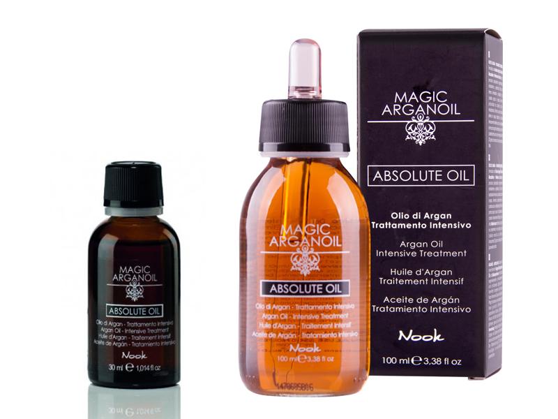 Maxima Nook Absolute oil - tekuté kryštály obohatené o argánový olej