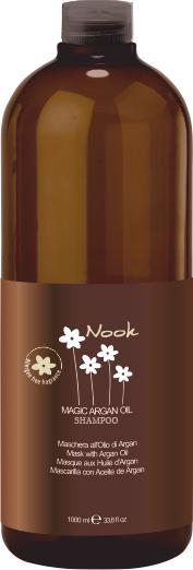Maxima Nook Magic argan oil shampoo - šampón pre všetky typy vlasov, 1000 ml