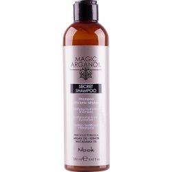 Maxima Nook Secret Shampoo - šampon s hedvábným leskem pro suché a poškozené vlasy, 250 ml