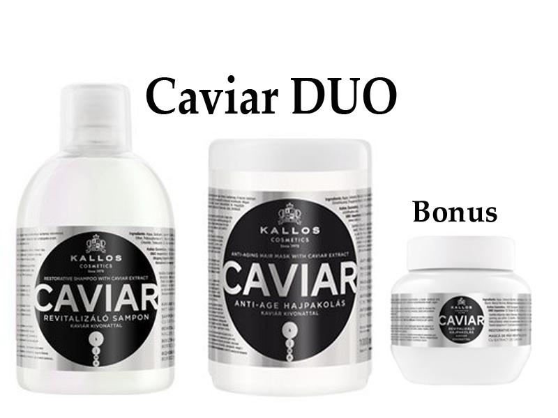 Kallos CAVIAR DUO - šampón + maska