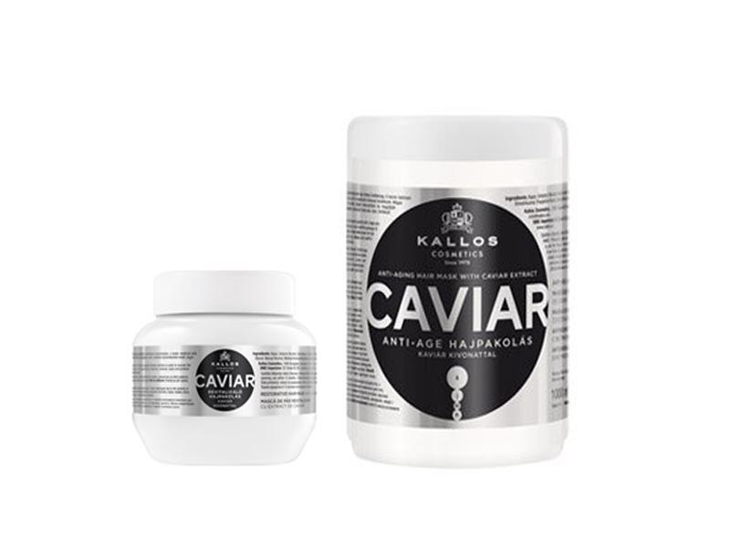 Kallos Caviar - regeneračná maska na vlasy s extraktom z kaviáru