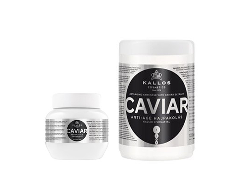 Kallos Caviar - regenerační maska na vlasy s extraktem z kaviáru