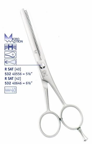Dovol Solingen Elitaire 532 40556 - profesionální kadeřnické efilační nůžky, 5,5