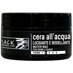 Black Water Wax For Shine & Shape - vosk pre mokrý vzhľad vlasov, 100 ml