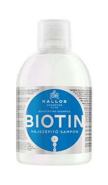 Kallos BIOTIN - šampón na slabé a lámavé vlasy, 1000 ml