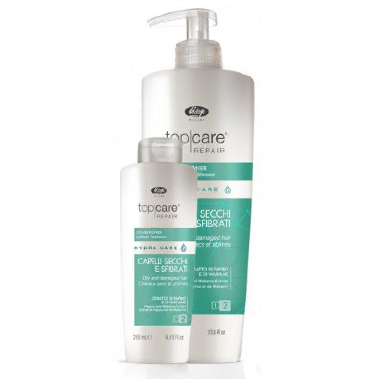 Lisap Top Care Repair Hydra Care - kondicionér na suché a poškodené vlasy