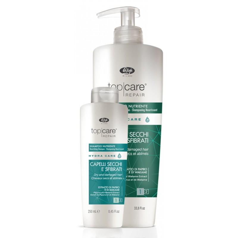 Lisap Top Care Repair Hydra Care - šampón na suché a poškodené vlasy
