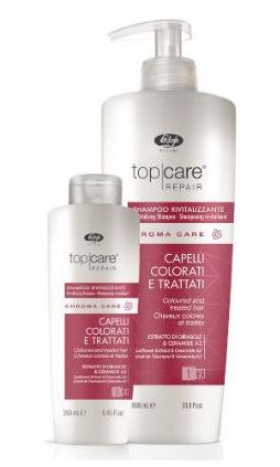 Lisap Top Care Repair Chroma Care - šampón na farbené vlasy