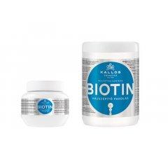 Kallos BIOTIN - maska pre tenké, slabé a lámavé vlasy