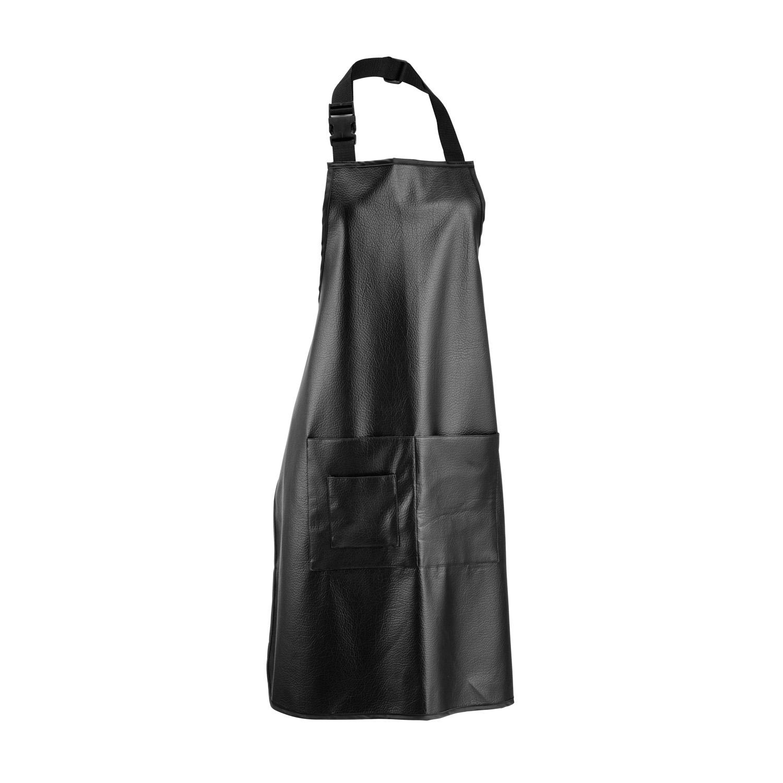 Leather apron 5394 - kadeřnická kožená zástěra.