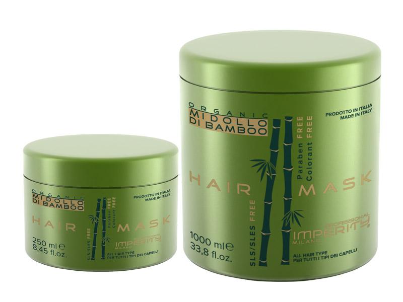Imperity Organic Midollo Di Bamboo Mask - regenerační maska