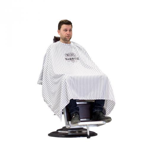 Wahl Barber 0093-5990 - holičská pláštenka, s kovovými háčikmi