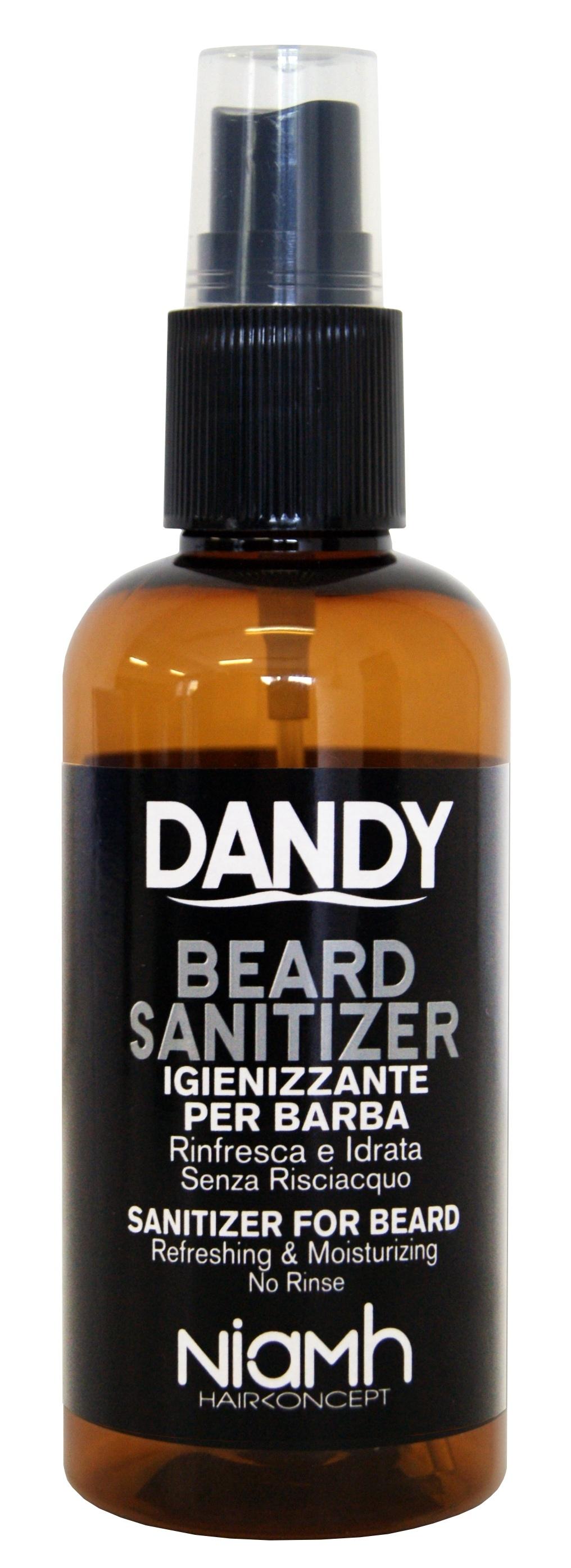 Dandy Beard Sanitizer - bezoplachová ochrana fúzov, 100 ml