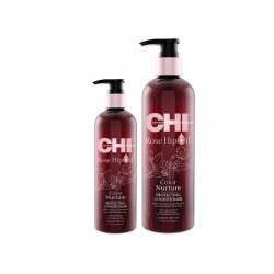 ​CHI Rose Hip oil protecting conditioner - kondicionér na farbené vlasy.