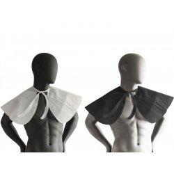 Jednorázová kadeřnická pláštěnka z netkané textilie - límec, 20 ks