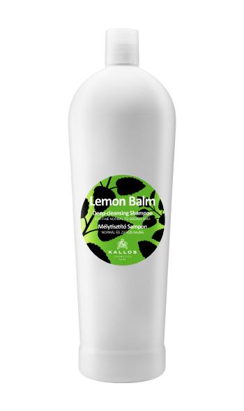 Kallos Lemon Balm - hloubkově čistící šampon, 1000 ml