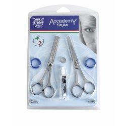 Kiepe Accademy style 277-55 + 272-55 set - kadernícke nožnice + efilačné nožnice