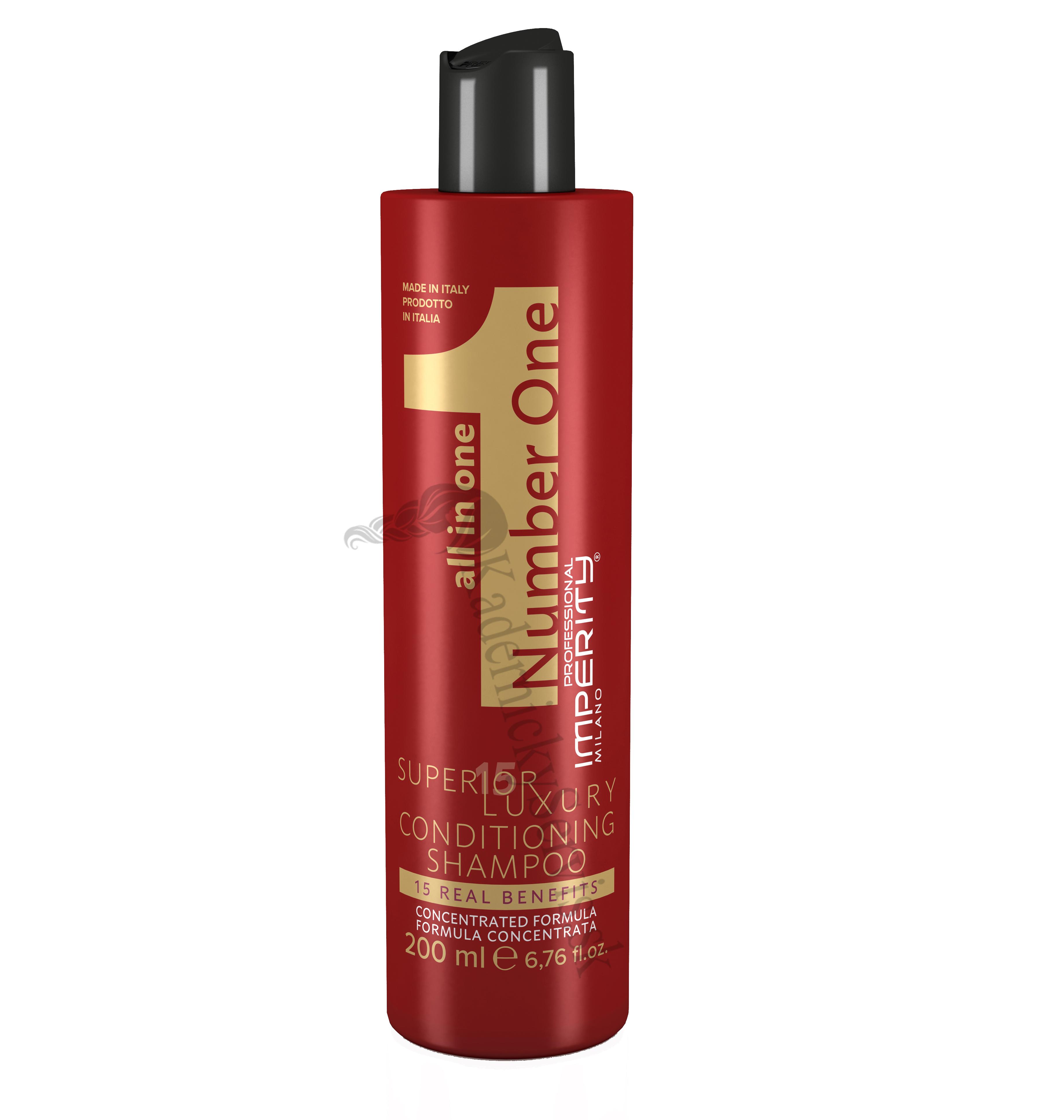 Imperity Number One Superior Luxury Conditioning Shampoo - šampón a kondicionér 2v1, 200ml