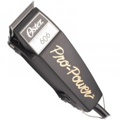 OSTER PRO POWER 606-95 - výkonný profesionální stříhací strojek na vlasy + Gembird - stlačený vzduch, 400 ml