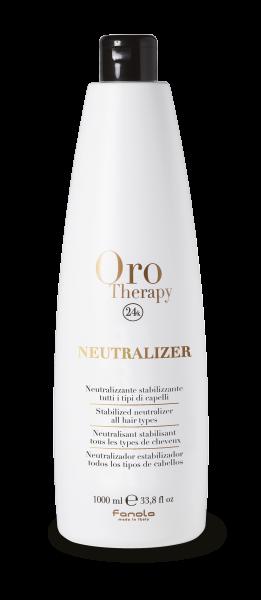 Fanola Oro Therapy neutralizátor - stabilizátor pre všetky typy vlasov, 1000 ml