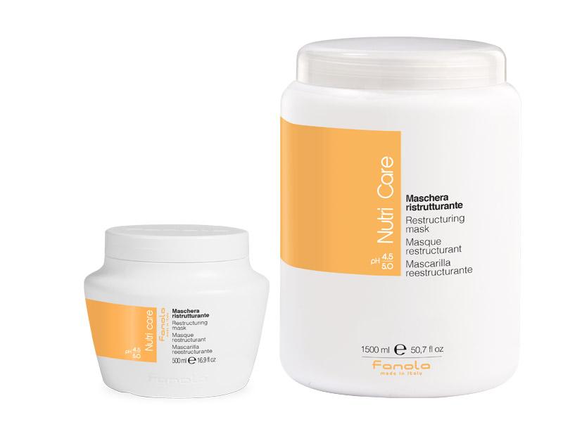 Fanola Nutri care - hydratačná a výživná maska na vlasy
