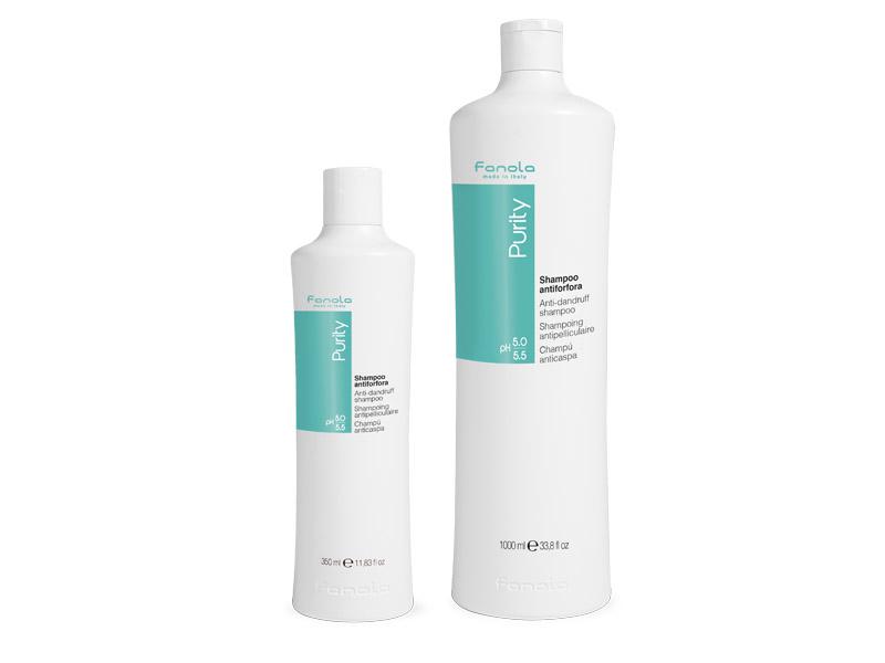 Fanola PURITY anti-forfora shampoo - šampón proti lupinám s antibakteriálnym účinkom
