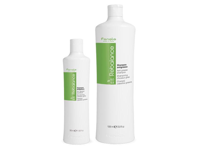Fanola Re-balance shampoo - šampón na mastné vlasy