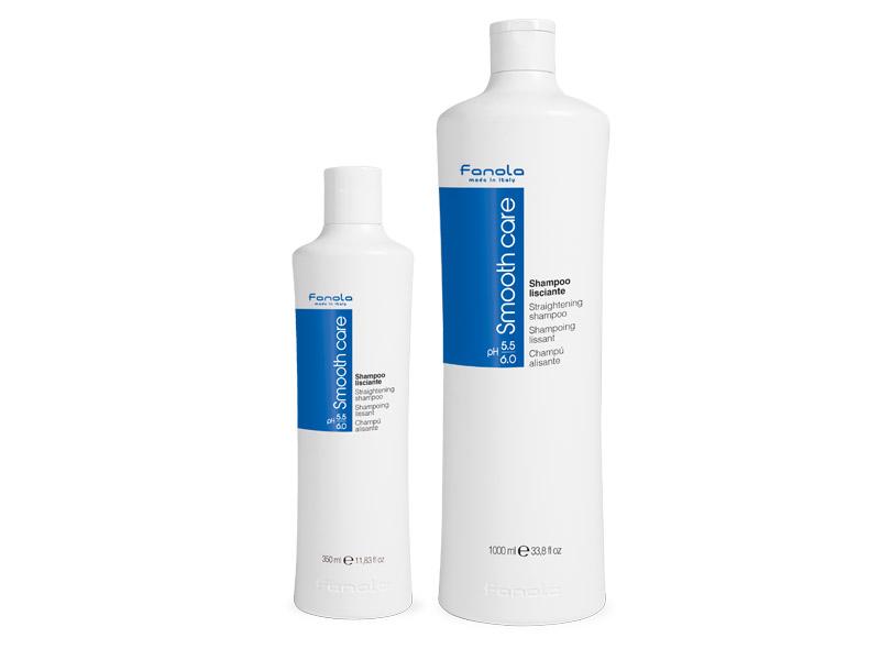 Fanola Smooth care - uhladzujúci šampón na nepoddajné vlasy