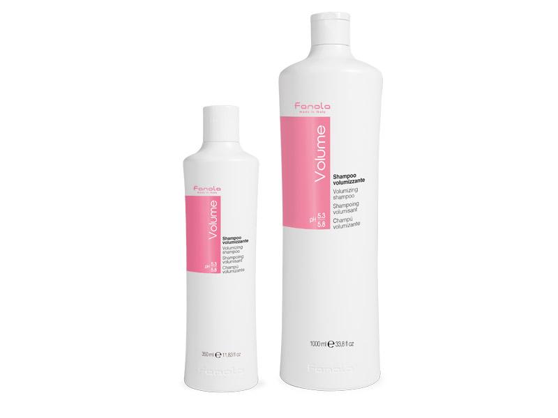 Fanola Volume shampoo - objemový šampón na jemné vlasy bez objemu s panthenolom