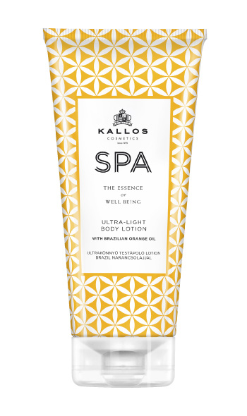Kallos SPA Ultra- Light Brazilia Orange body lotion - telové mlieko, 200 ml