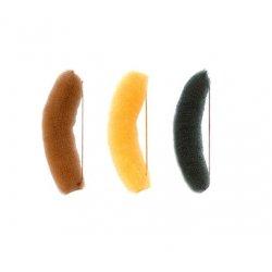 Výplň do vlasů banán s gumičkou, 15 cm