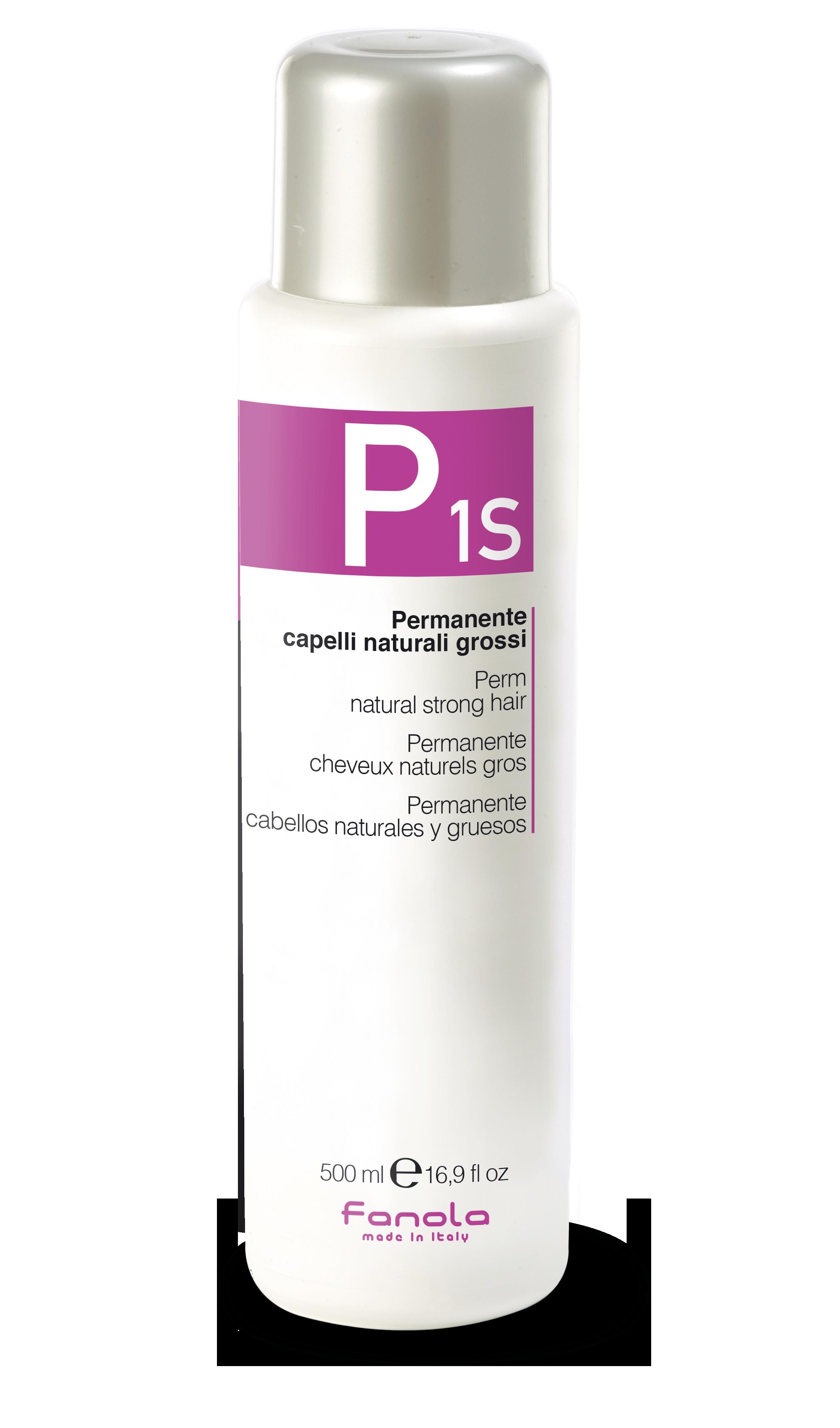 Fanola PERM P 1 S - trvalá ondulácia na prírodné, silné vlasy, 500 ml