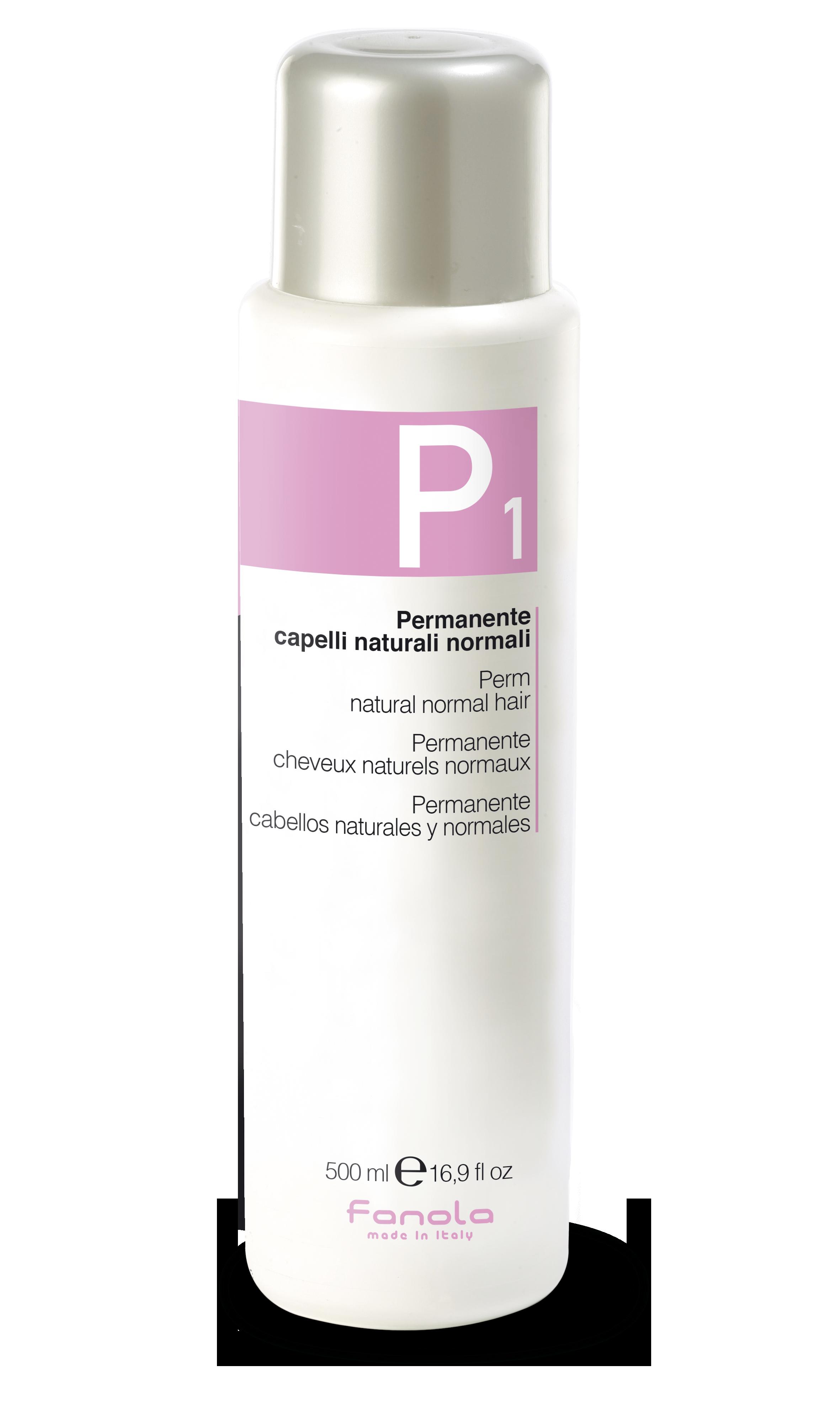 Fanola PERM P 1 - trvalá ondulácia na normálne vlasy, 500 ml