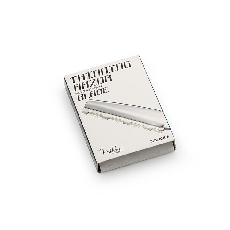 BraveHead TXZ thinning razor blade 1998 - stenčovacie žiletky do stylingového, efilačného zrezávača 2v1