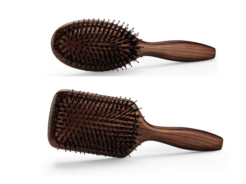 BraveHead Vintage Maple brush - profesionální kartáče na rozčesávání vlasů