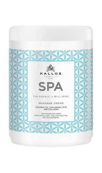 Kallos SPA masage cream - masážní tělový krém, 1000 ml