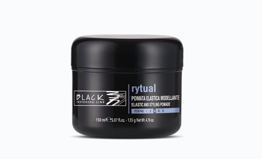 Black Rytual pomata - modelovacia elastická pomáda na vlasy 150 ml