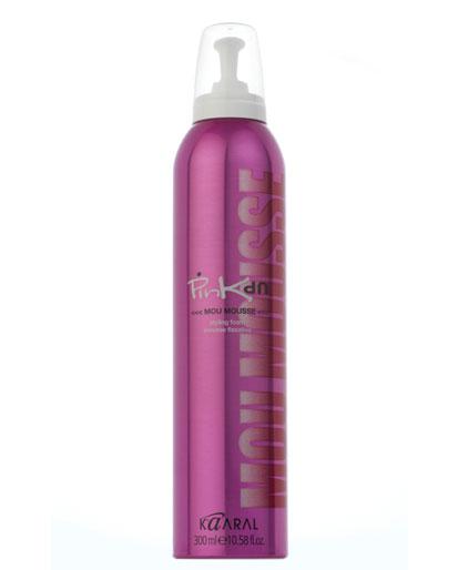 Kaaral Pink Up Mou Mousse - silne tužiace penové tužidlo, 300 ml