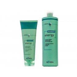 Kaaral PURIFY Energy - kondicionér pre dodanie energie a vitality všetkých typov vlasov