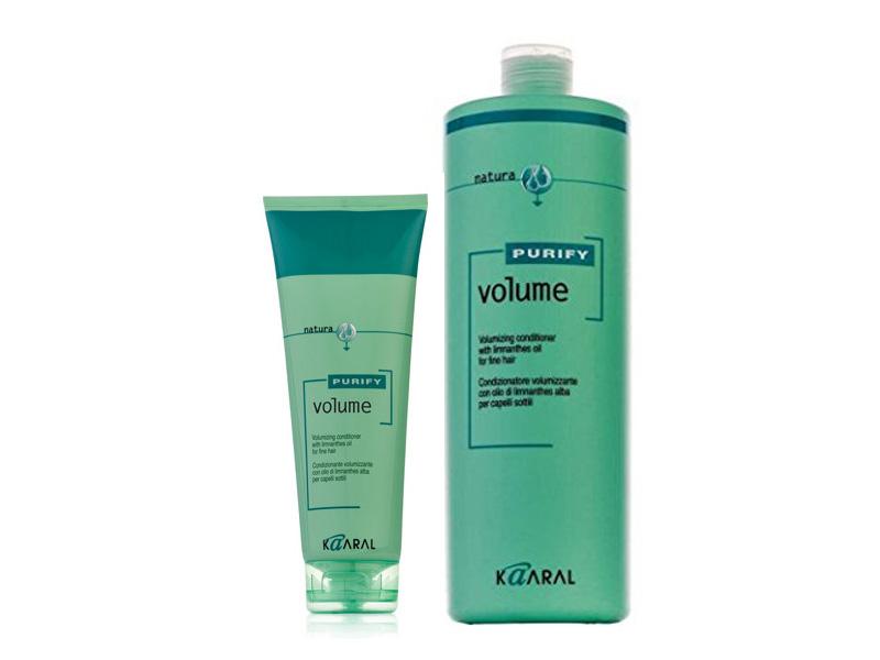 Kaaral PURIFY VOLUME - kondicionér pre vlasy jemné, tenké, ovisnuté, matné a oslabené