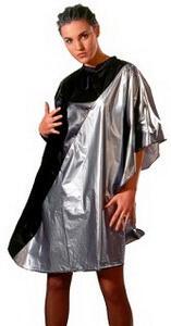 Sibel NORA - kadernícka pláštenka na farbenie a strihanie vlasov, na suchý zips