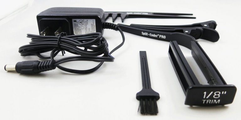 Talavera SPLIT-ENDER PRO - profesionálny originálny vlasový zastrihávač rozštiepených končekov + nabíjací stojan + Gembird - stlačený vzduch, 400 ml