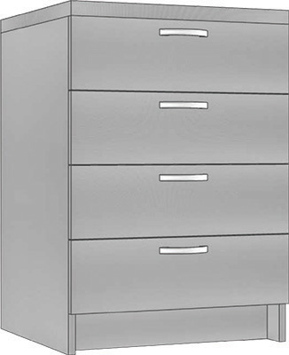 Ayala  Labor SDS 40-60-80 - modulárna skriňa spodná