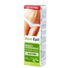 Aloe Epil Bikini and armpits depilatory cream - depilačný krém pre oblasti podpazušia a bikín, 125 ml