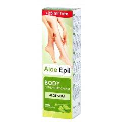 Aloe Epil Body depilatory cream - telový depilačný krém,125 ml