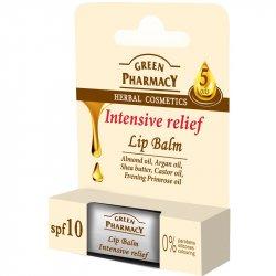 Green Pharmacy Intensive relief vith 5 oil -  balzam na pery pre intenzívnu úľavu 5 rastlinných olejov, 3,6g